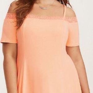 Torrid Off-The-Shoulder Camisole Dress
